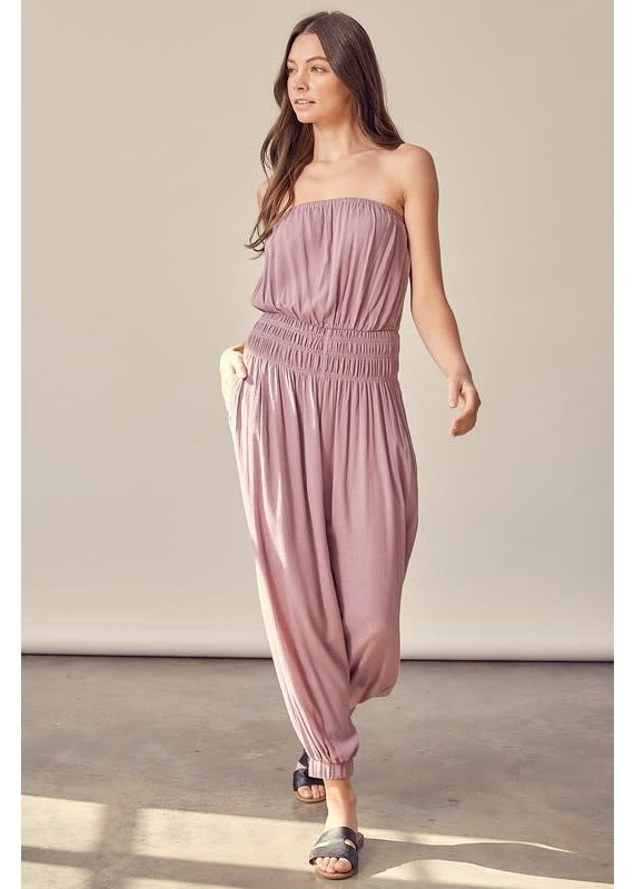 PODOS Tube Top Jumpsuit
