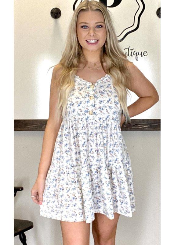 PODOS Multi Print Dress