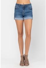 Judy Blue JB Cuffed Hem Shorts PLUS