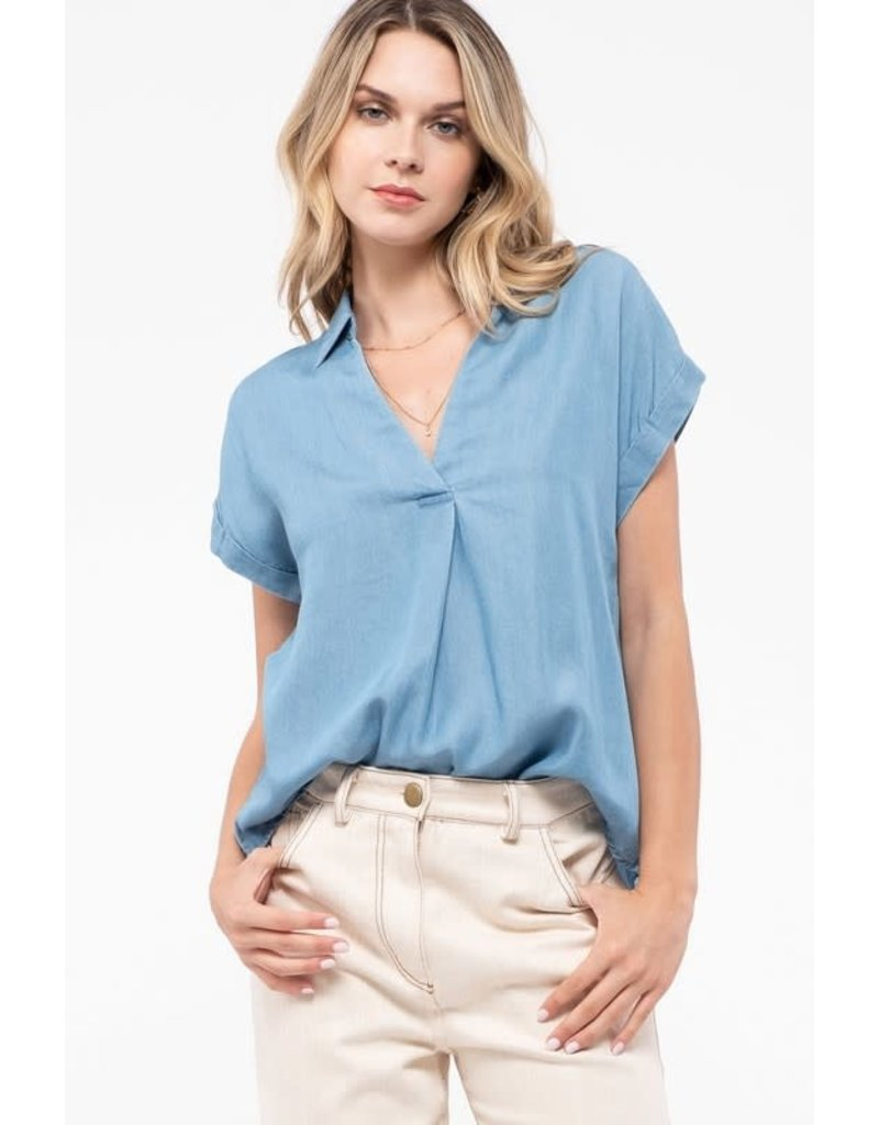PODOS Back Button Keyhole Front Top