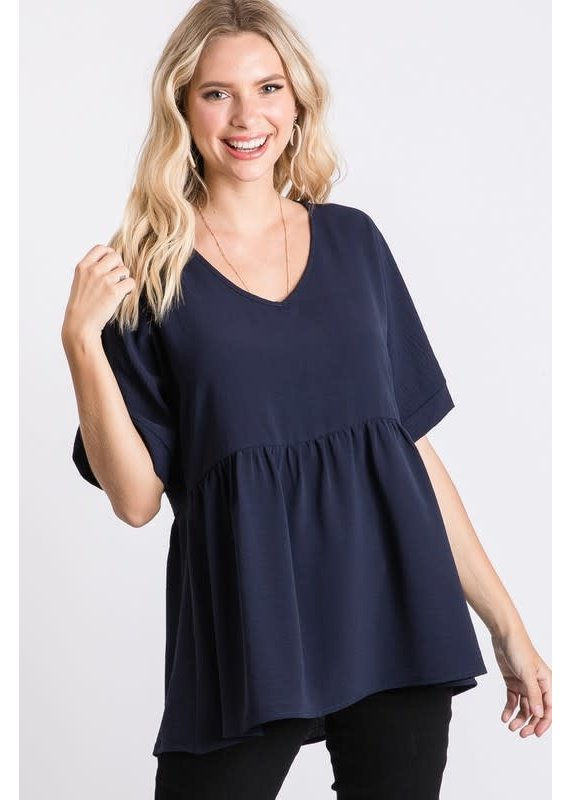 PODOS Dolman Baby Doll Top