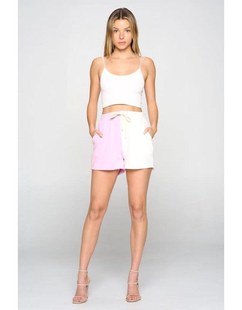 PODOS Two-Tone Lounge Shorts