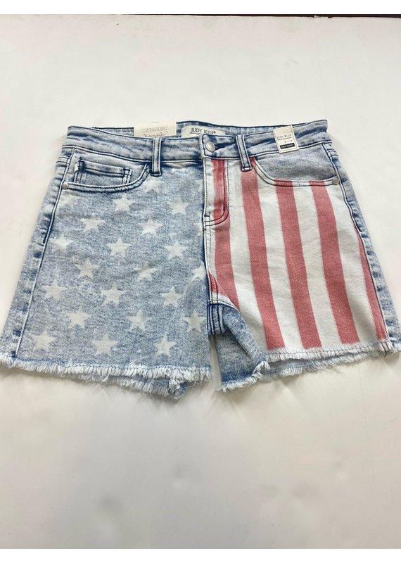 Judy Blue JB Printed Shorts