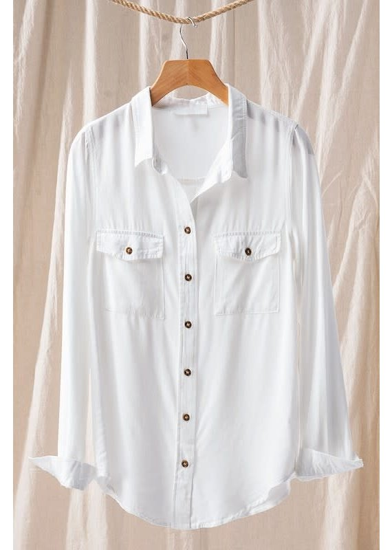 PODOS Button Down Shirt