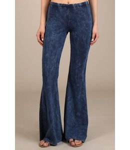 Chatoyant Mineral Washed Bell Bottoms