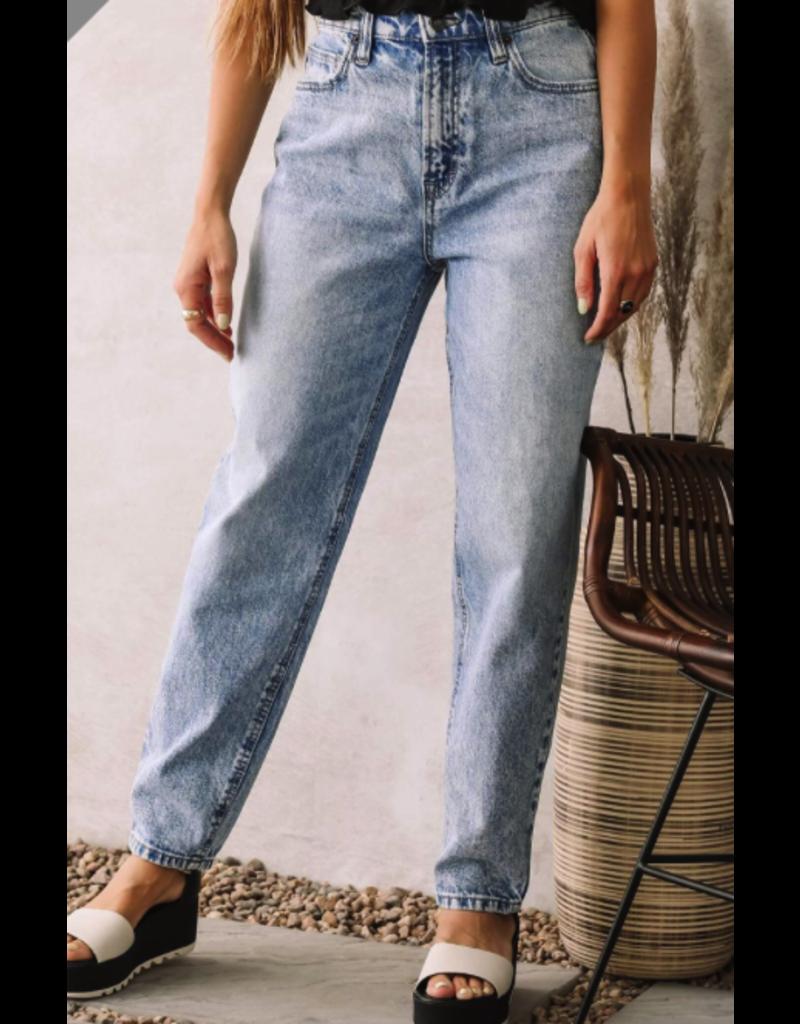 PODOS Hidden Brand Zoey Mom Jeans