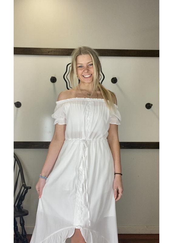 PODOS Swing Midi Dress
