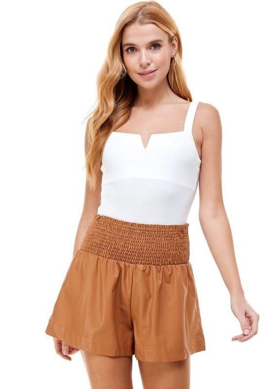 PODOS Knit Bodysuit w/ Boning