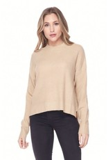 PODOS Dropped Shoulder Sweater Top