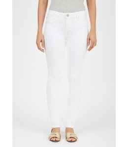Articles of Society White Frayed Hem Jeans