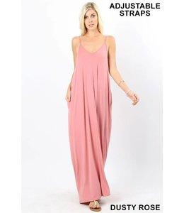 Zenana Cami Maxi Dress