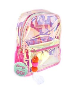 3 Happy Hooligans Iridescent Backpack