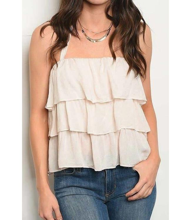 11 Degrees Layered Halter Top
