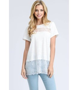 Doe & Rae Lace Detail Tunic
