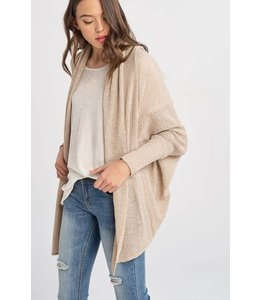 Wishlist Batwing Open Cardigan