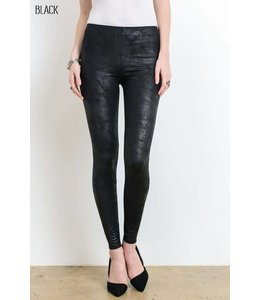 Wishlist Faux Suede Leggings