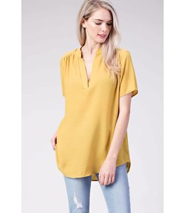 Mitto Short Sleeve V Neck