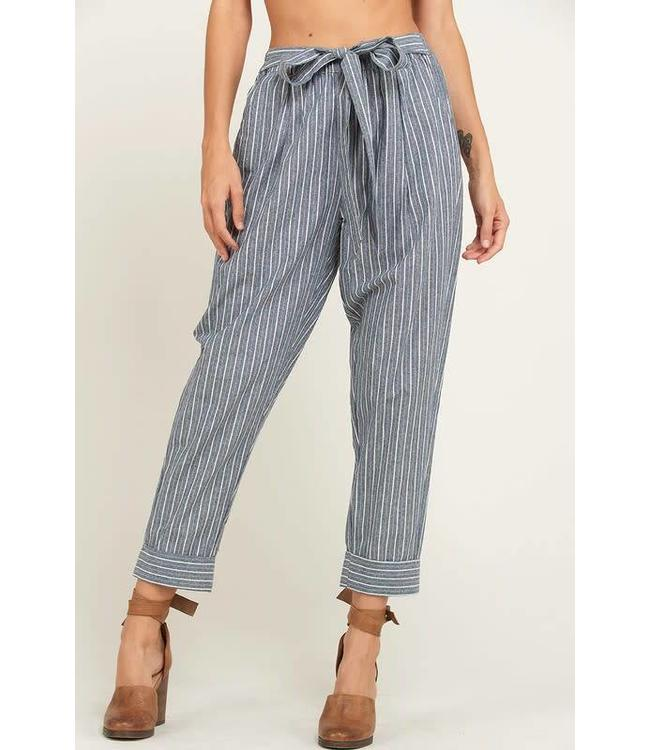 Wishlist Cotton Striped Pants