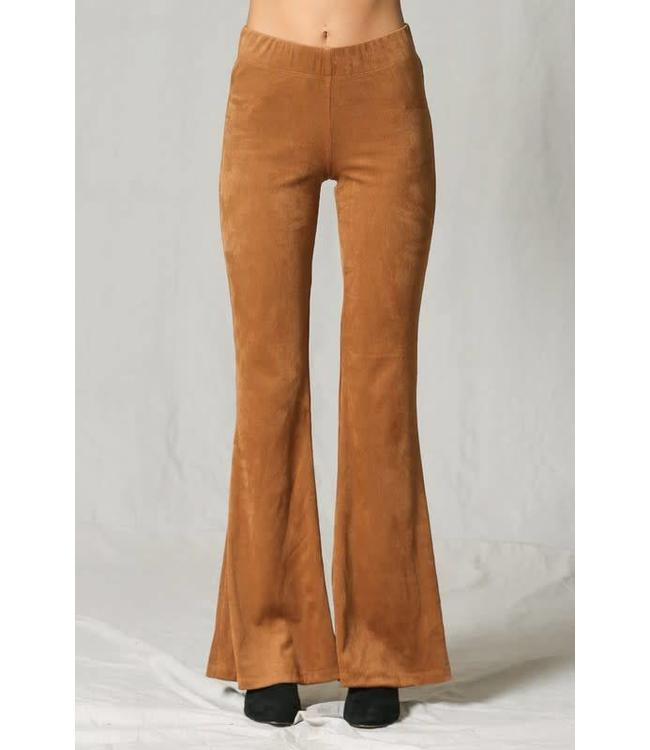 finest selection fresh styles limited quantity Suede Bell Bottom Pants