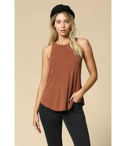By Together Ribbed Fitted Tank