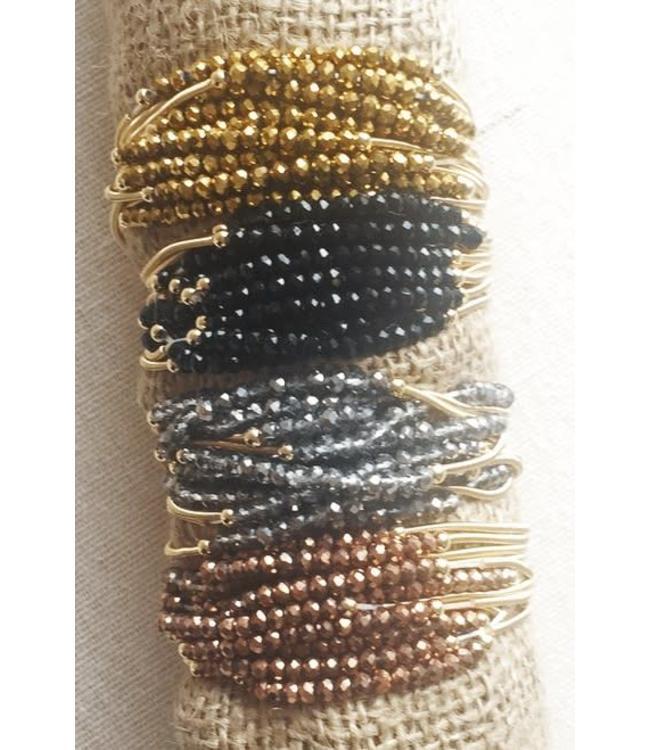 New Prospects Stretch Beaded Bracelet