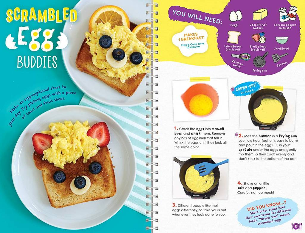 Kids Cooking Book by Klutz