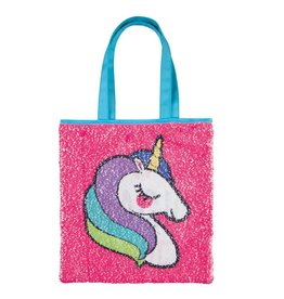 Fashion Angels Unicorn & Rainbow Sequin Reveal Tote