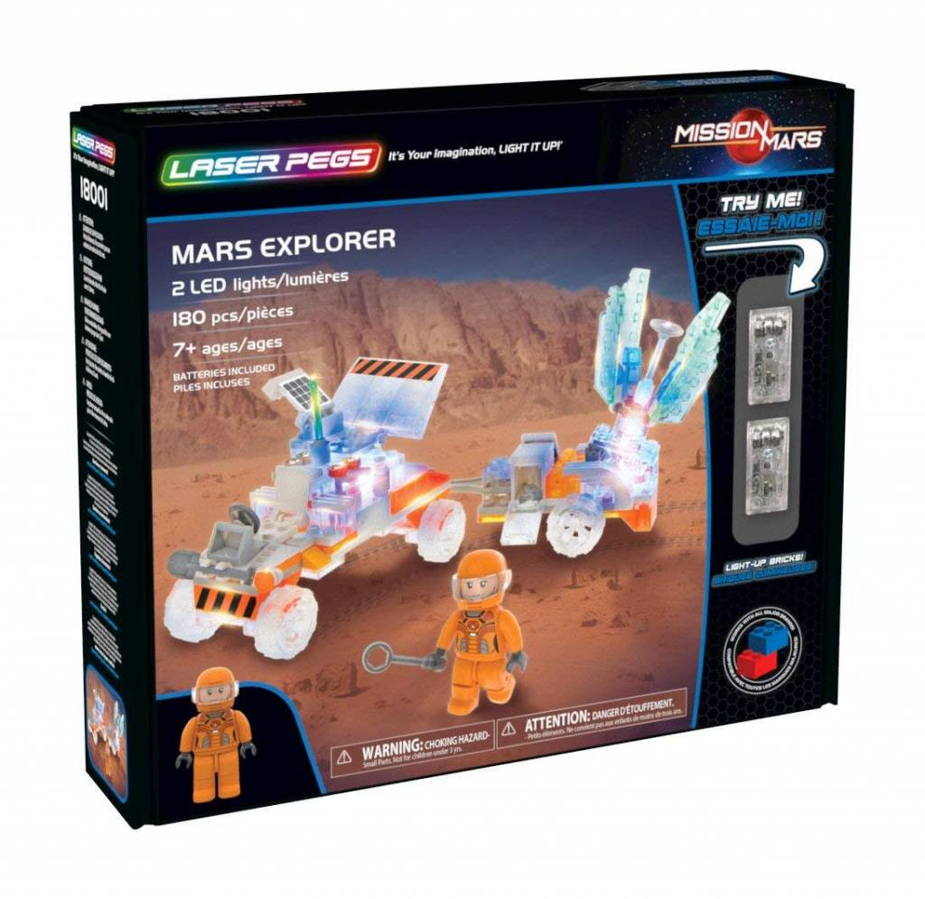 Mars Explorer by Laser Pegs