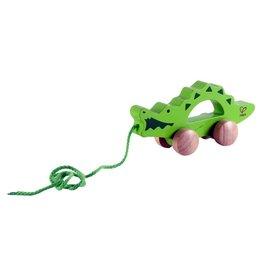 Crocodile Push/Pull Toy by Hape