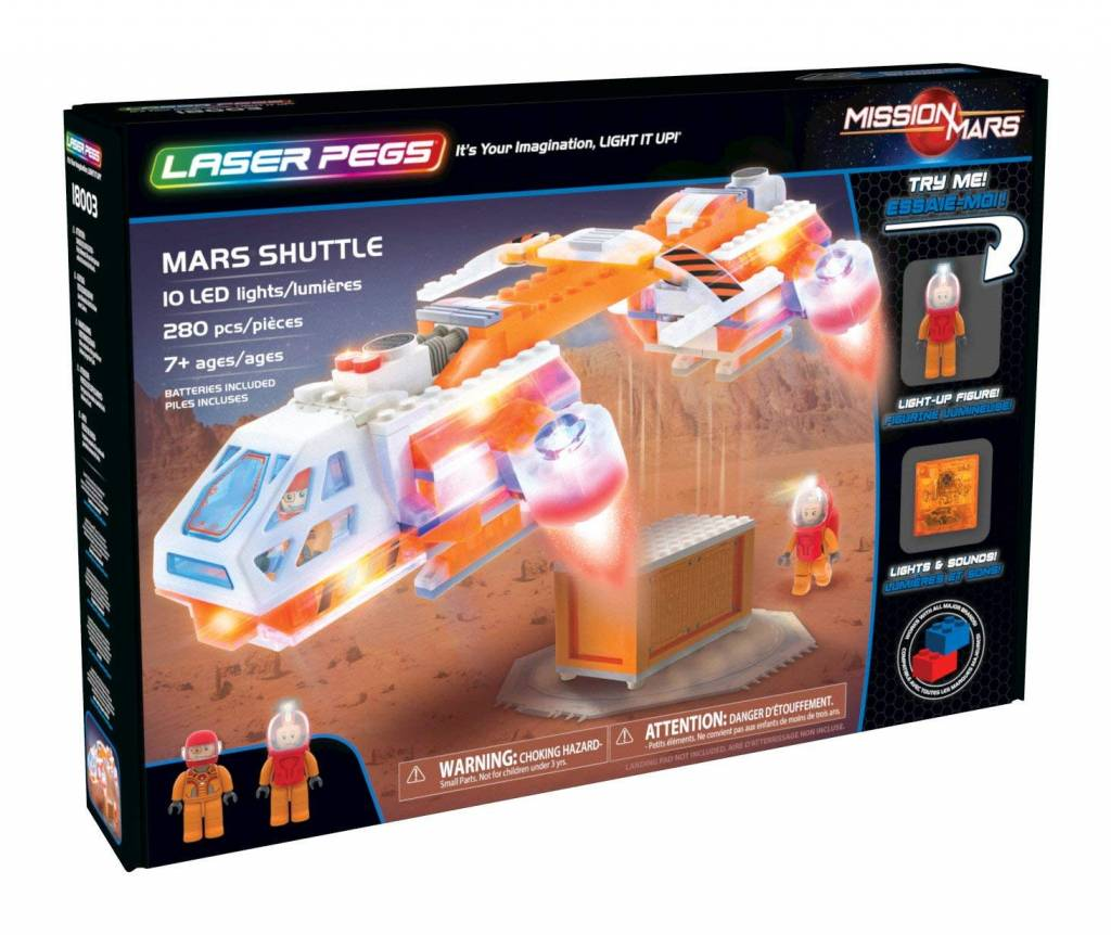 Mars Shuttle by Laser Pegs
