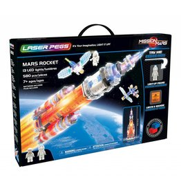 Mars Rocket by Laser Pegs