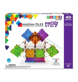 Magna-Tiles FreeStyle 40-pc Set
