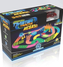 Mindscope Twister Tracks 547-pc Mega Set by Mindscope