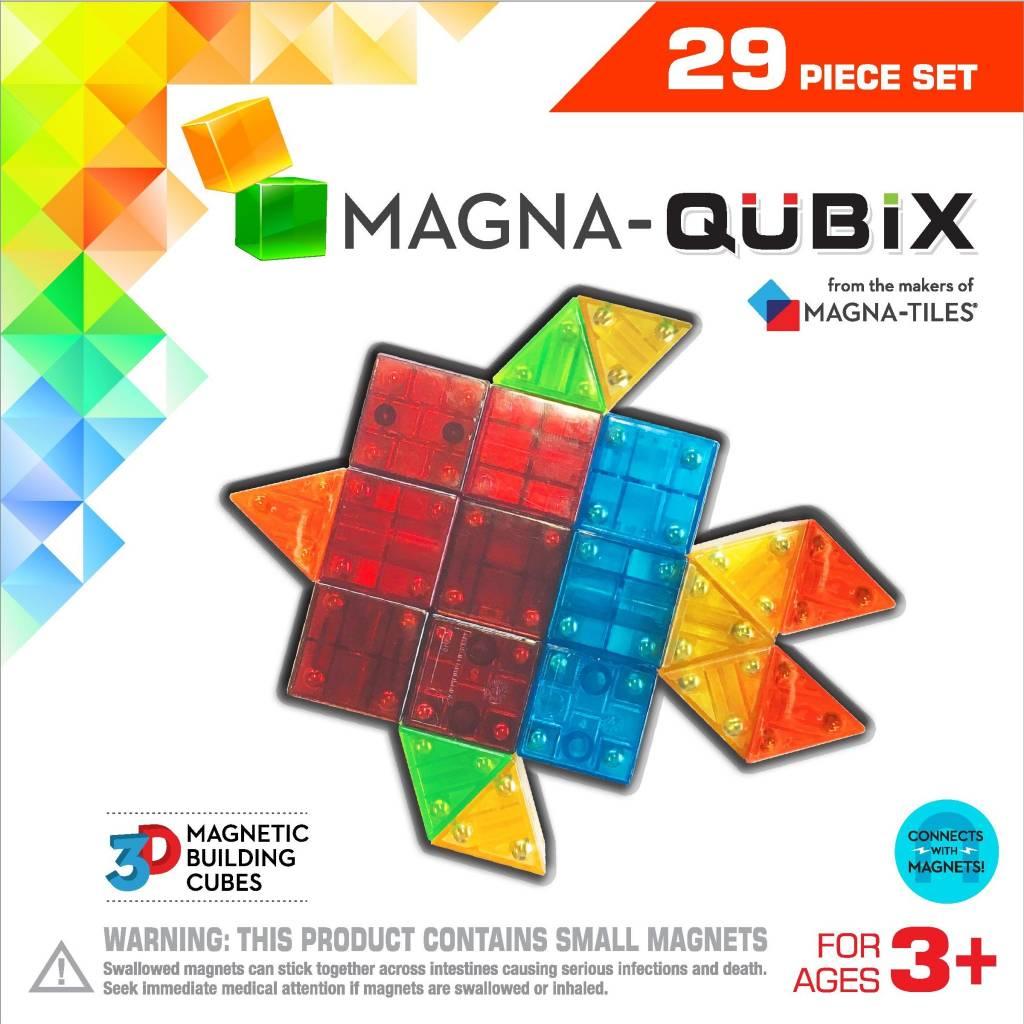 Magna-Qubix 29-pc Set by Magna Tiles
