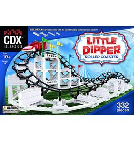 CDX Blocks Little Dipper Roller Coaster by CDX