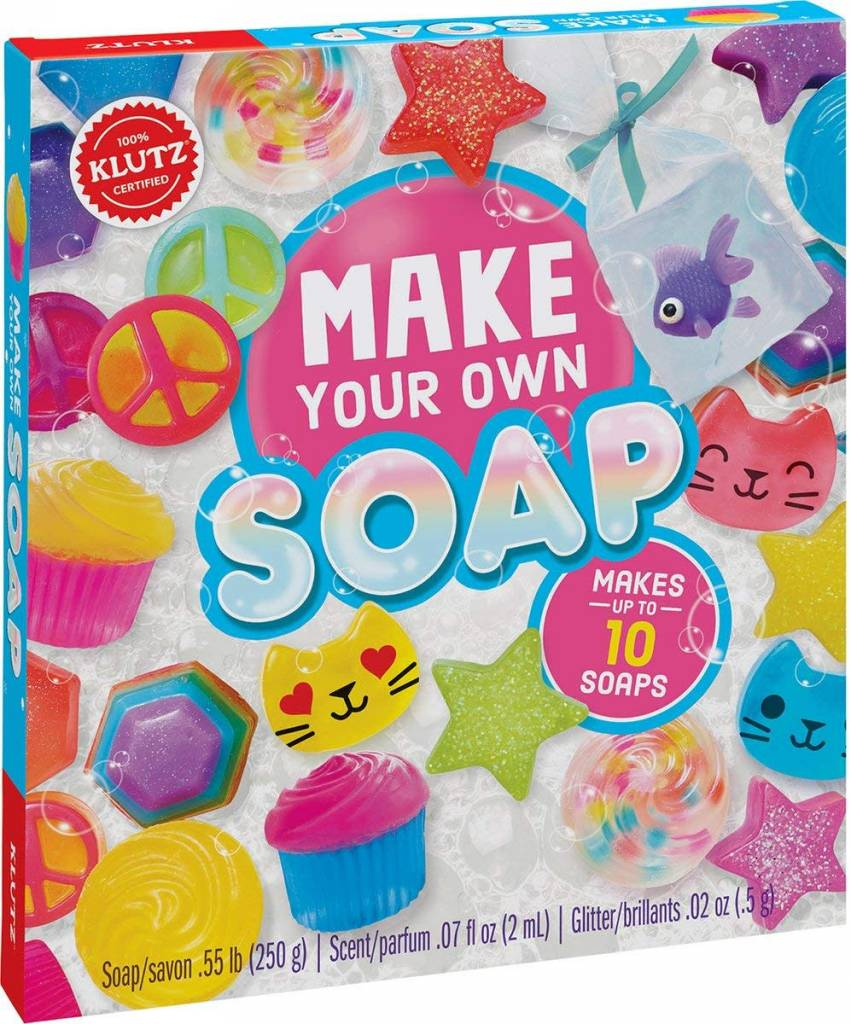 Make Your Own Soap Kit by Klutz