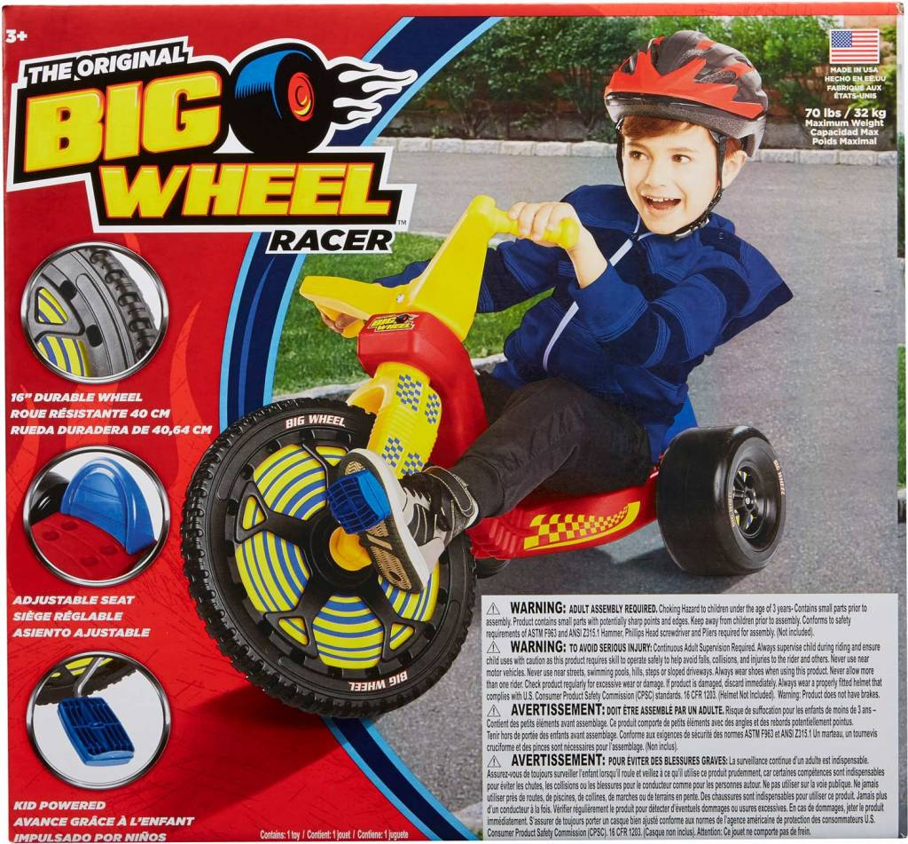 Alex Toys Big Wheel Classic Racer by Alex