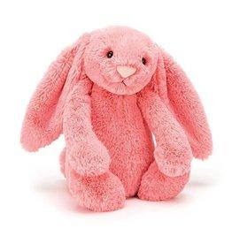 "Bashful Coral Bunny Medium 12"" by Jellycat"