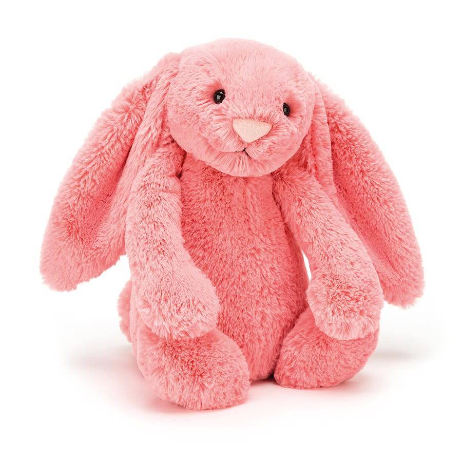 "Bashful Coral Bunny Medium 12"" by Jellycat"