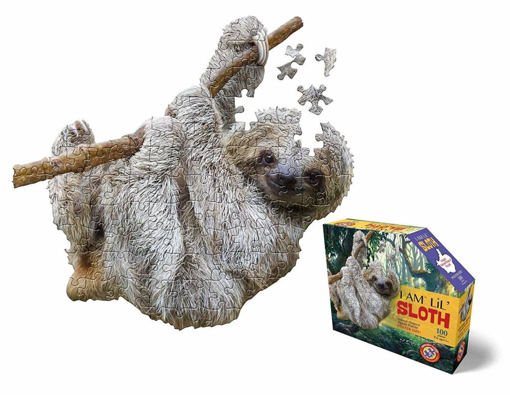 I  AM Lil Sloth 1100-pc Puzzle by Madd Capp