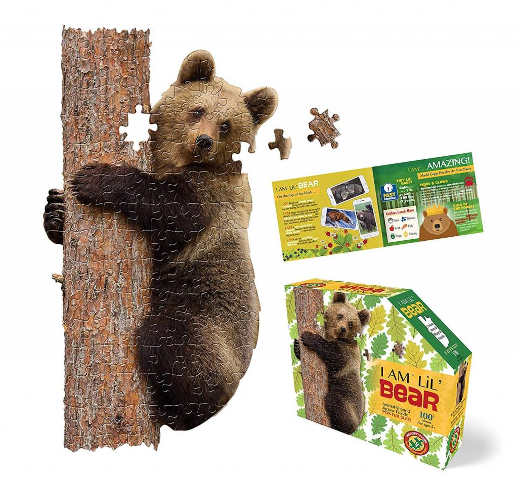 I AM Lil Bear 100-pc puzzle by Madd Capp