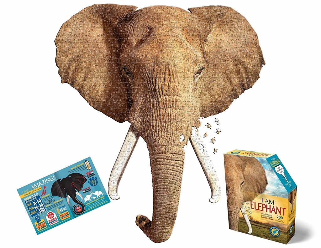 I AM Elephant 700-pc Puzzle by Madd Capp