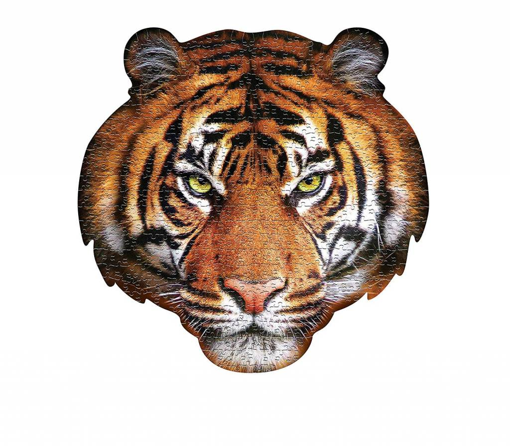 I AM Tiger 550-pc Tiger Puzzle by Madd Capp