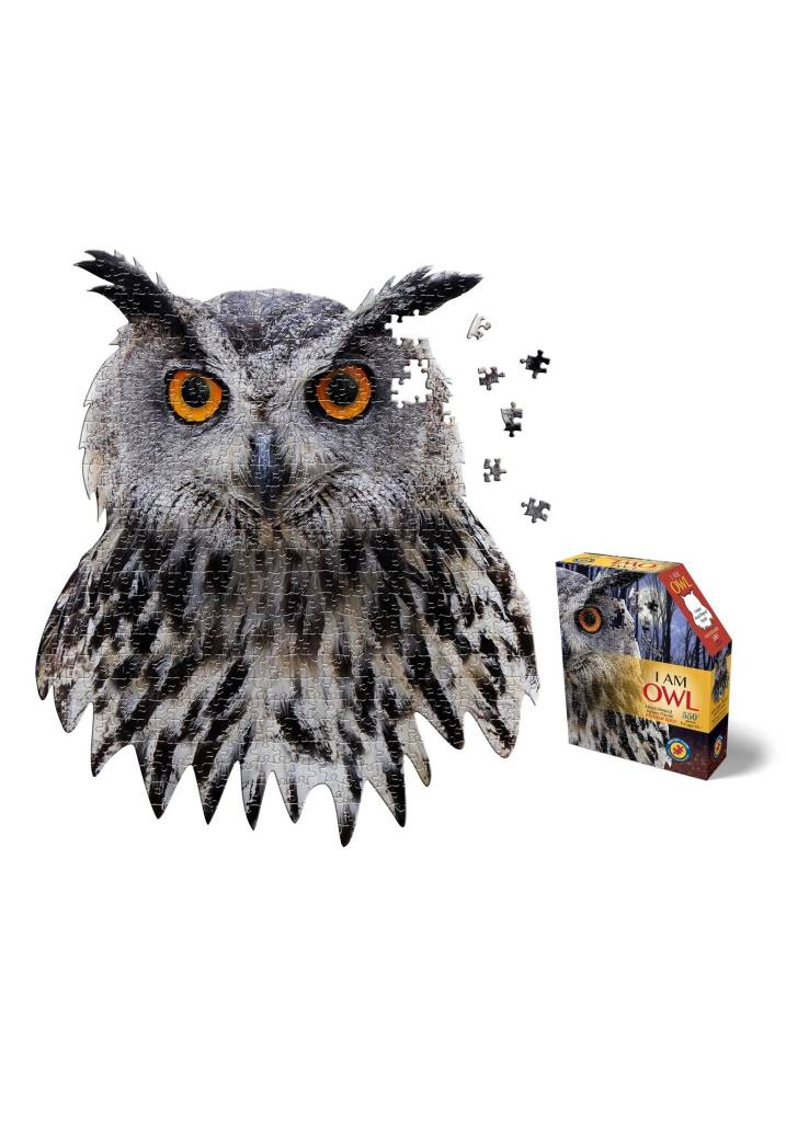 I AM Owl 550-pc Puzzle by Madd Capp