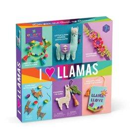 I Love Llamas Kit by Ann Williams