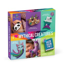 I Love Mythical Creatures Kit by Ann Williams