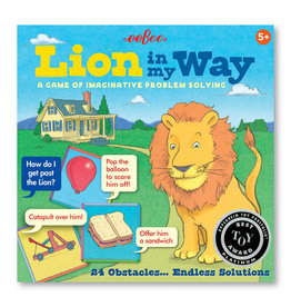 Lion in My Way Cooperative Card Game by eeBoo