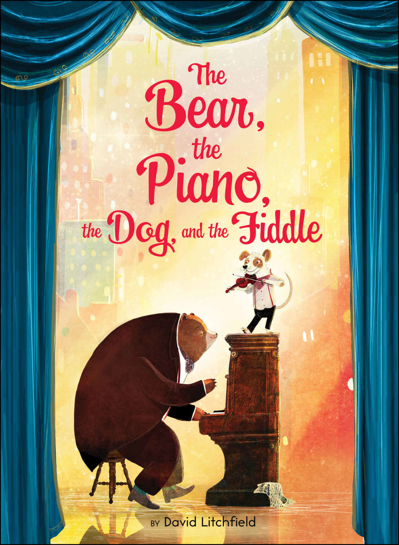 Houghton Mifflin The Bear, the Piano, the Dog, and the Fiddle