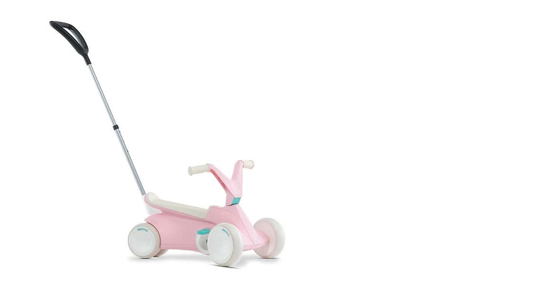 BERG GO2 Pedal Go-Kart - Pink