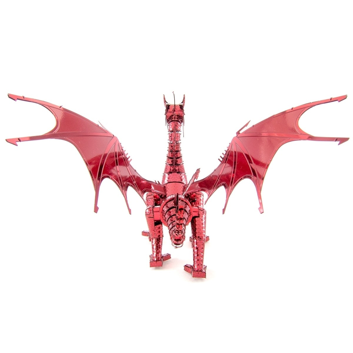 Fascinations Red Dragon 3D Metal Model by Fascinations